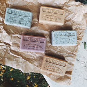 Rosemary Exfoliating French Soap - MAULE & MAULE