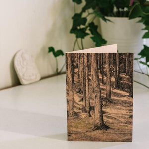 Tall Trees - Kraft Card - MAULE & MAULE