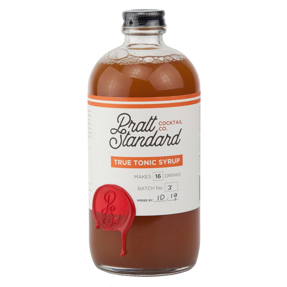 Pratt Standard <br><b>True Tonic Syrup </b></br>16 fl.oz.Bottle