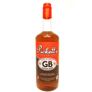 pickett's american craft hot spicy ginger beer syrup  | pure goods