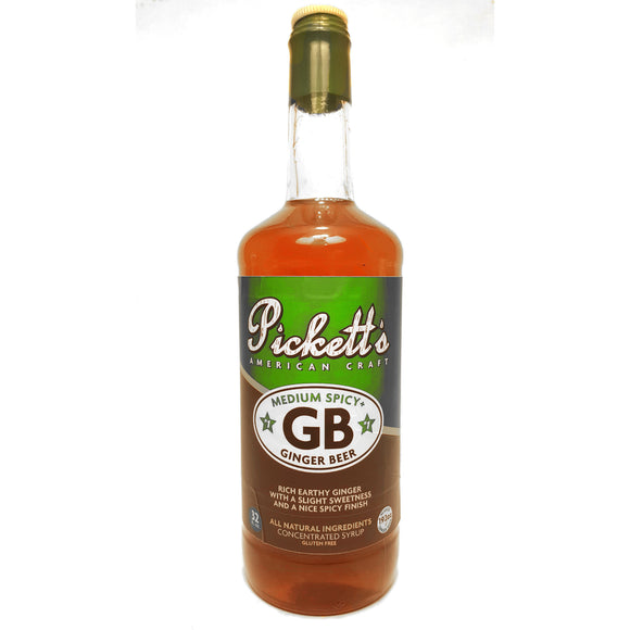Pickett's Ginger Beer Syrup | Pure Goods
