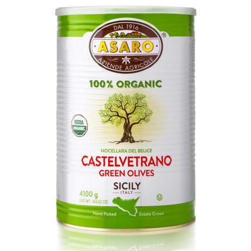 Asaro Organic Castelvetrano Olives (Pitted) | Pure Goods