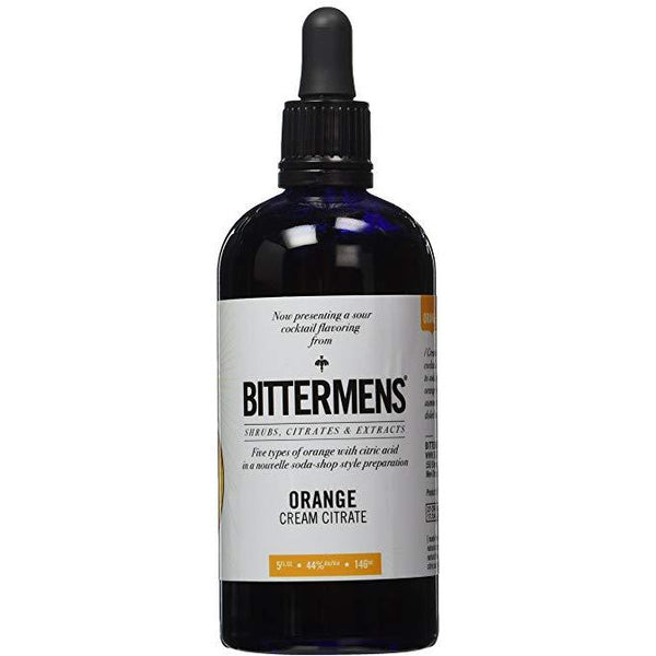 bittermens orange cream citrate bitters™  | pure goods