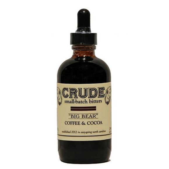 crude big bear coffee and cocoa bitters  | pure goods