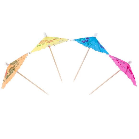 <html>Pure Goods<br><b> Paper Umbrella Picks</b></br> 50 Count</html>