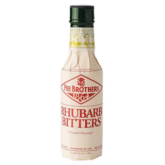 fee brothers rhubarb bitters  | pure goods