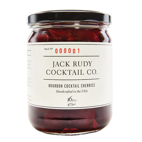 jack rudy bourbon cocktail cherries  | pure goods