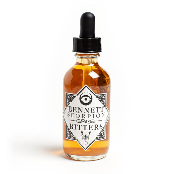 <html>Bennett Bitters<br><b>Scorpion</b></br>2 fl.oz. Bottle</html>