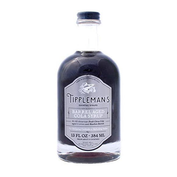 <html>Tippleman's<br><b> Barrel Aged Cola Syrup</b></br> 13 fl.oz.Bottle</html>