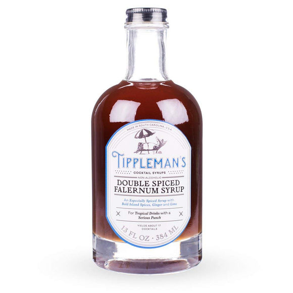 <html>Tippleman's<br><b>Double Spiced Falernum</b></br>13 fl.oz.Bottle</html>