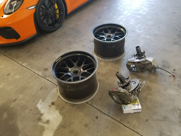 2010 RSR - Wheels and Uprights