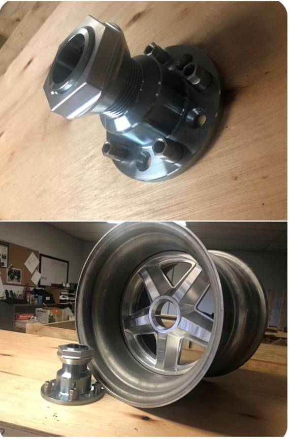 Custom Vintage Center Lock Wheel
