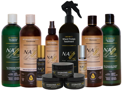 Nazz Hair Products | All hair products | Elite Distributor