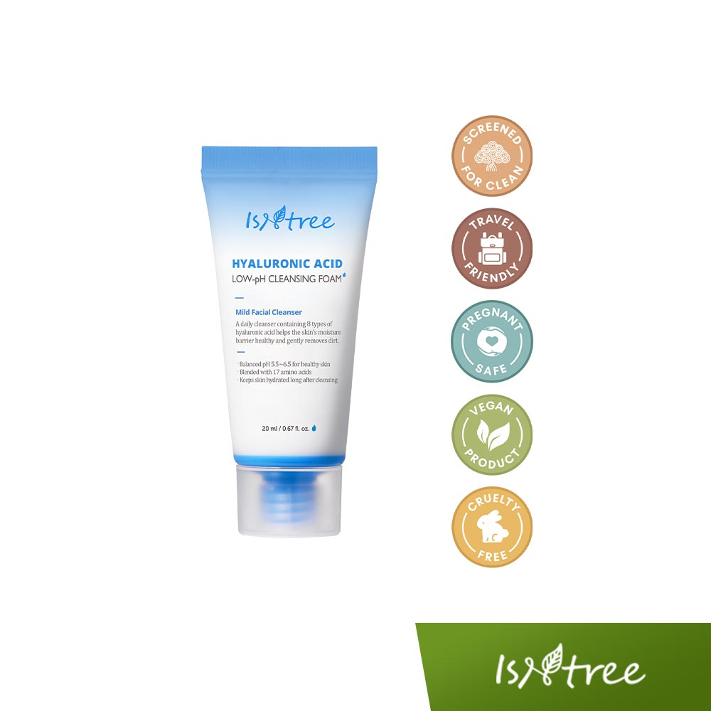 ISNTREE Hyaluronic Acid Low-pH Cleansing Foam 20mL