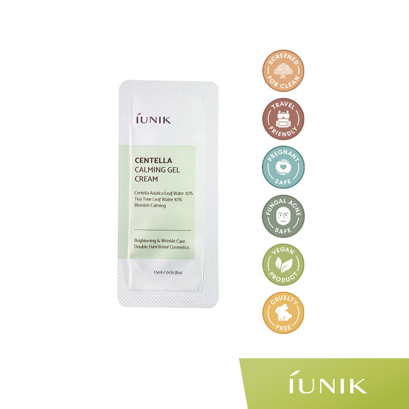 iUNIK SAMPLE Centella Calming Gel Cream 1.5mL