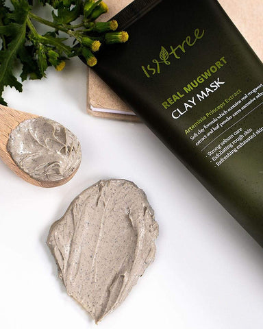 Isntree Mask ISNTREE Real Mugwort Clay Mask 100ml
