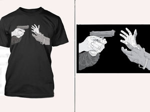 Hands up, Don't shoot shirt