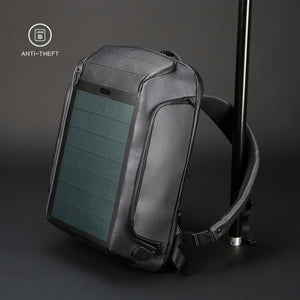 Anti-theft Solar Backpack