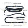 Hands-Free Doggo Leash with Adjustable Belt Shock Absorbing Bungee - republictrend.com