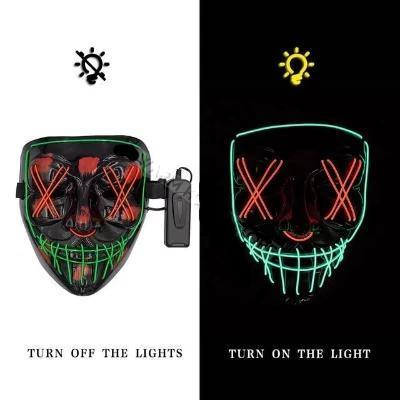 Dual Color Purge LightUp Mask