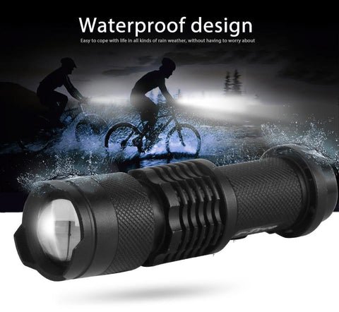 Bicycle Front LED Headlight 7 Watt 2000 Lumens Flash light