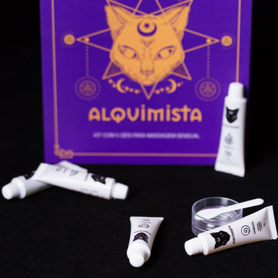 Kit Alquimista - Géis Massagem Corporal