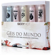 Kit Géis do Mundo - Massagem Corporal