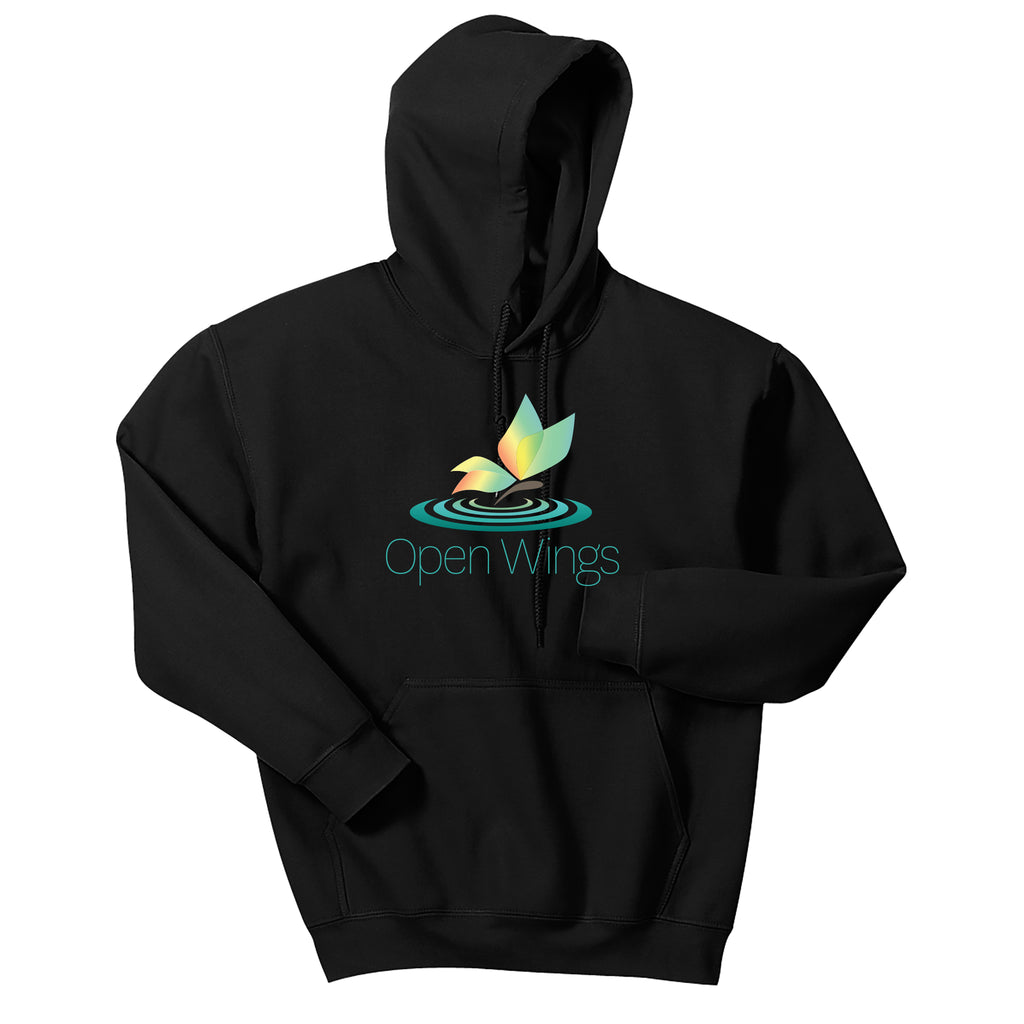 Open Wings On Demand Adult Hoodie