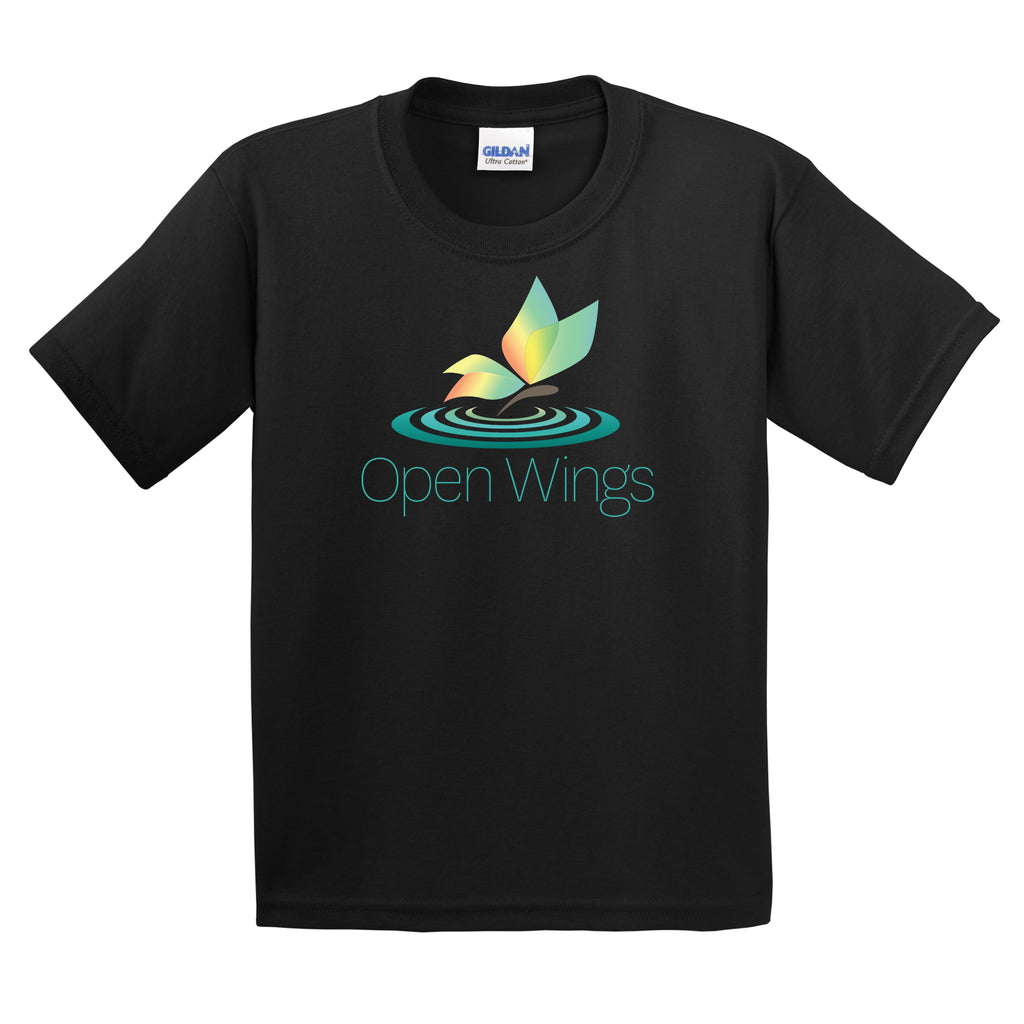 Open Wings On Demand Youth Essential Short Sleeve T
