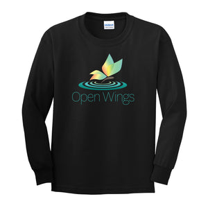Open Wings On Demand  Youth Essential Long Sleeve T
