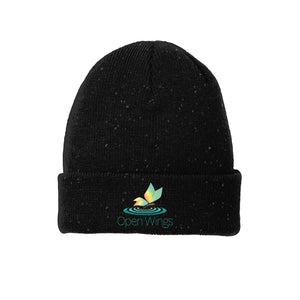 Open Wings On Demand Speckled Beanie