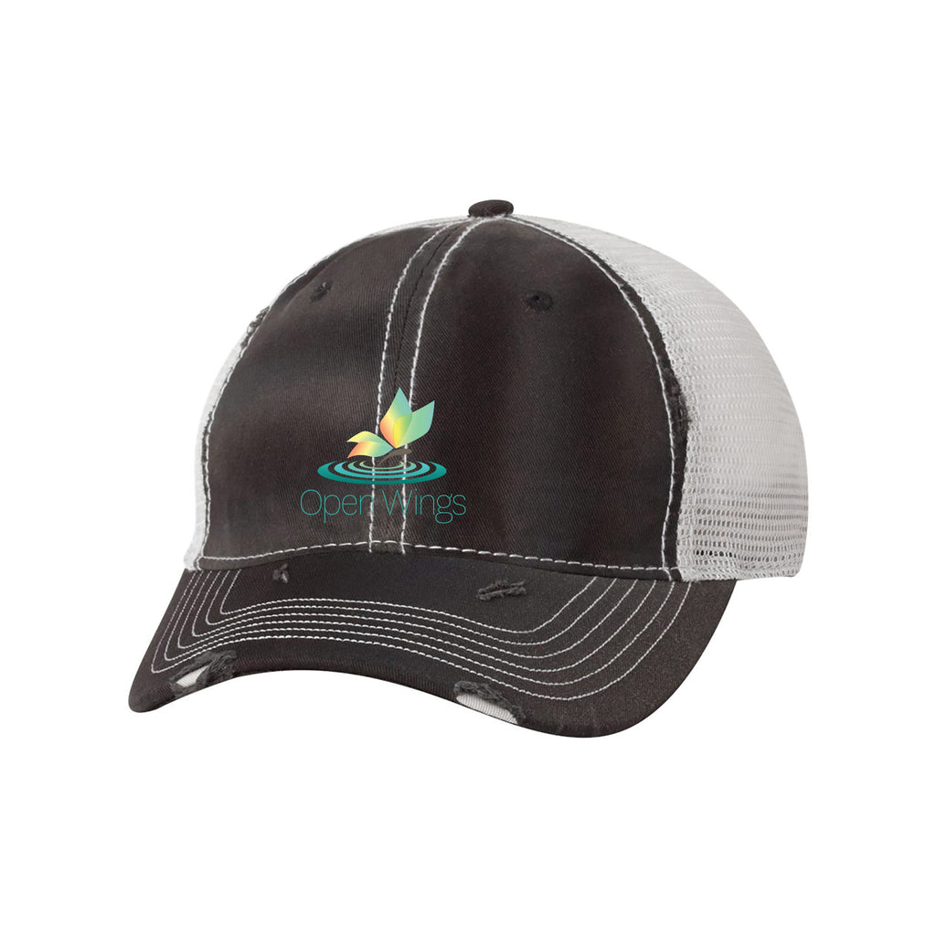 Open Wings On Demand Mesh Cap
