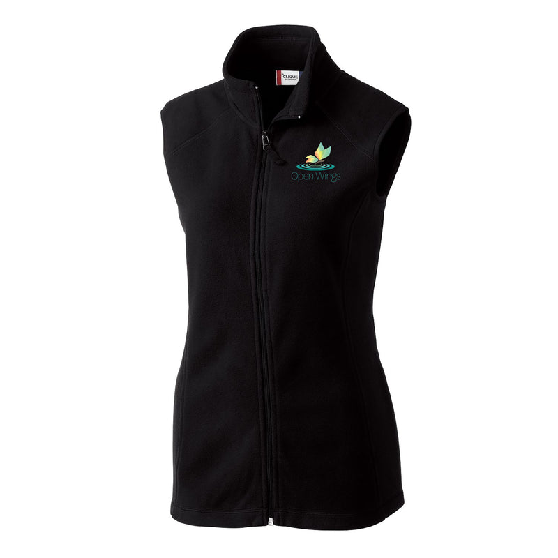 Open Wings On Demand Ladies' Full Zip Microfleece Vest