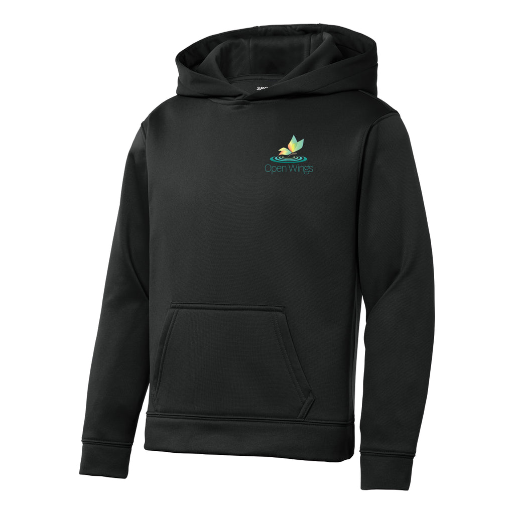 Open Wings On Demand Youth Sport-Wick® Hoodie