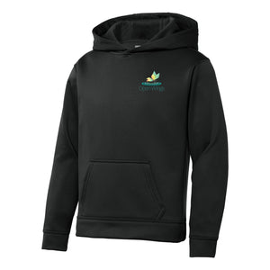 Open Wings Classic Youth Sport-Wick® Hoodie