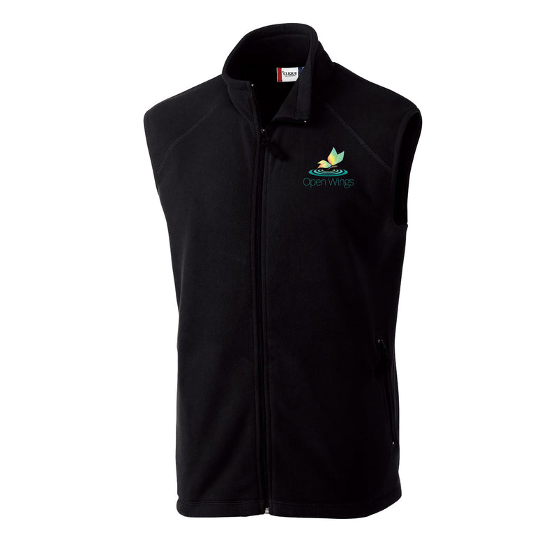 Open Wings On Demand Adult Full Zip Microfleece Vest