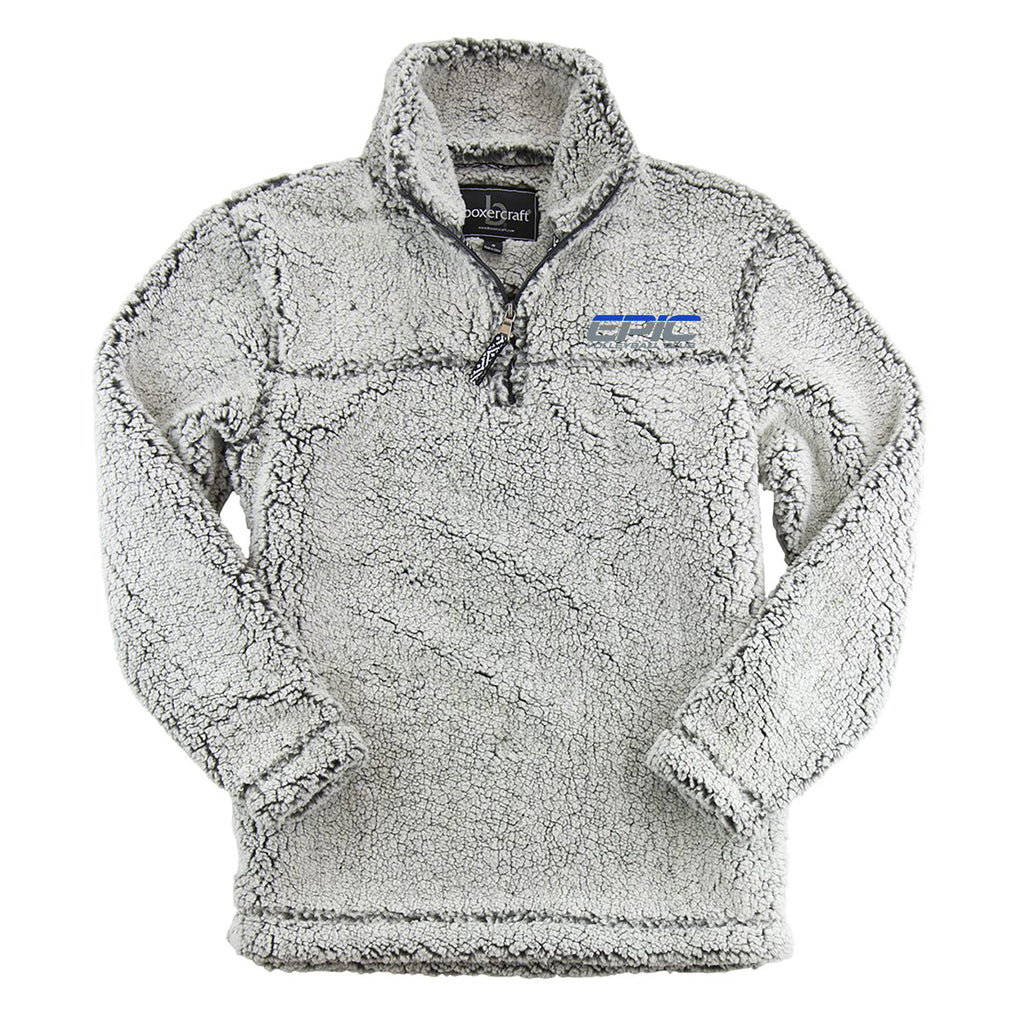 EPIC VB On Demand Cozy Sherpa Quarter Zip Pullover Youth