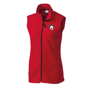 Paris Ladies Microfleece Vest (2 colors)