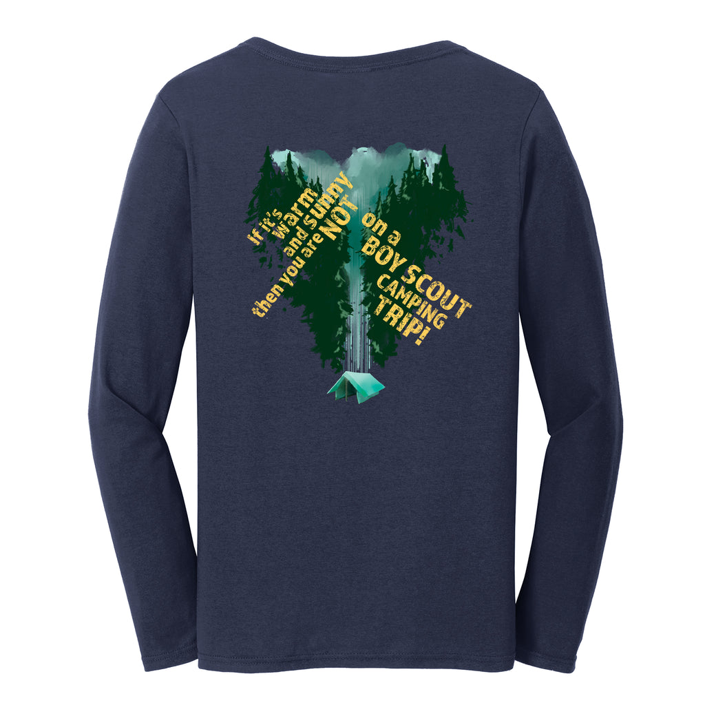 Troop 570 Group Order Ladies Long Sleeve T-shirt
