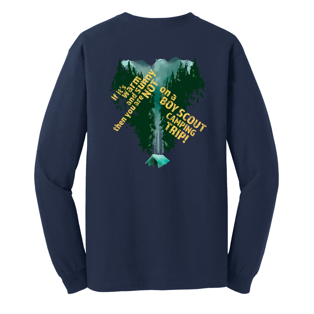 Troop 570 Group Order Adult Long Sleeve T-shirt