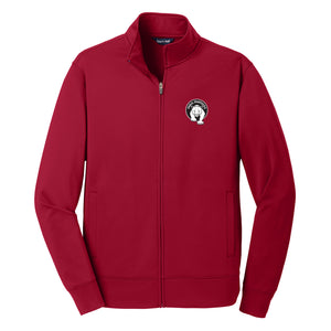 Paris Adult Sport-Wick Fleece Warm Up Jacket (3 Colors)