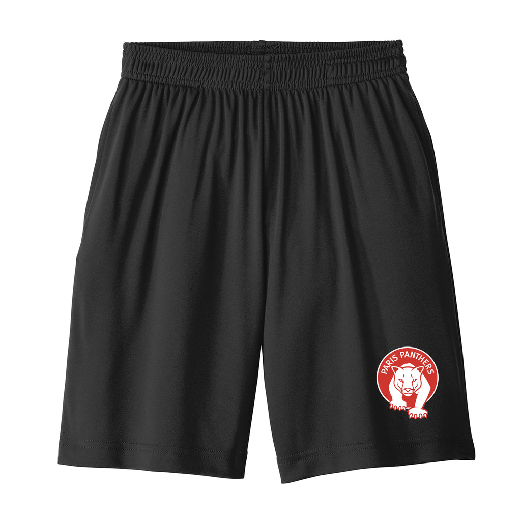 Paris Youth Athletic Shorts with Pockets (2 colors)