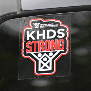 KHDS Strong Repositionable Decal