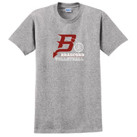 Bradford Volleyball Adult Essential T-Shirt (2 colors)