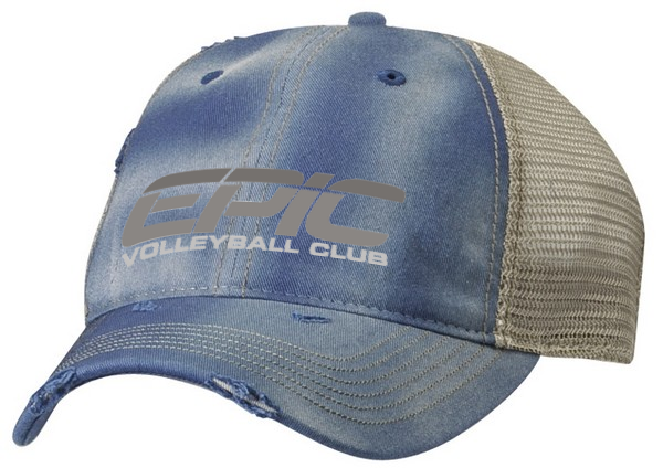 EPIC VB On Demand Washed Mesh-Back Cap