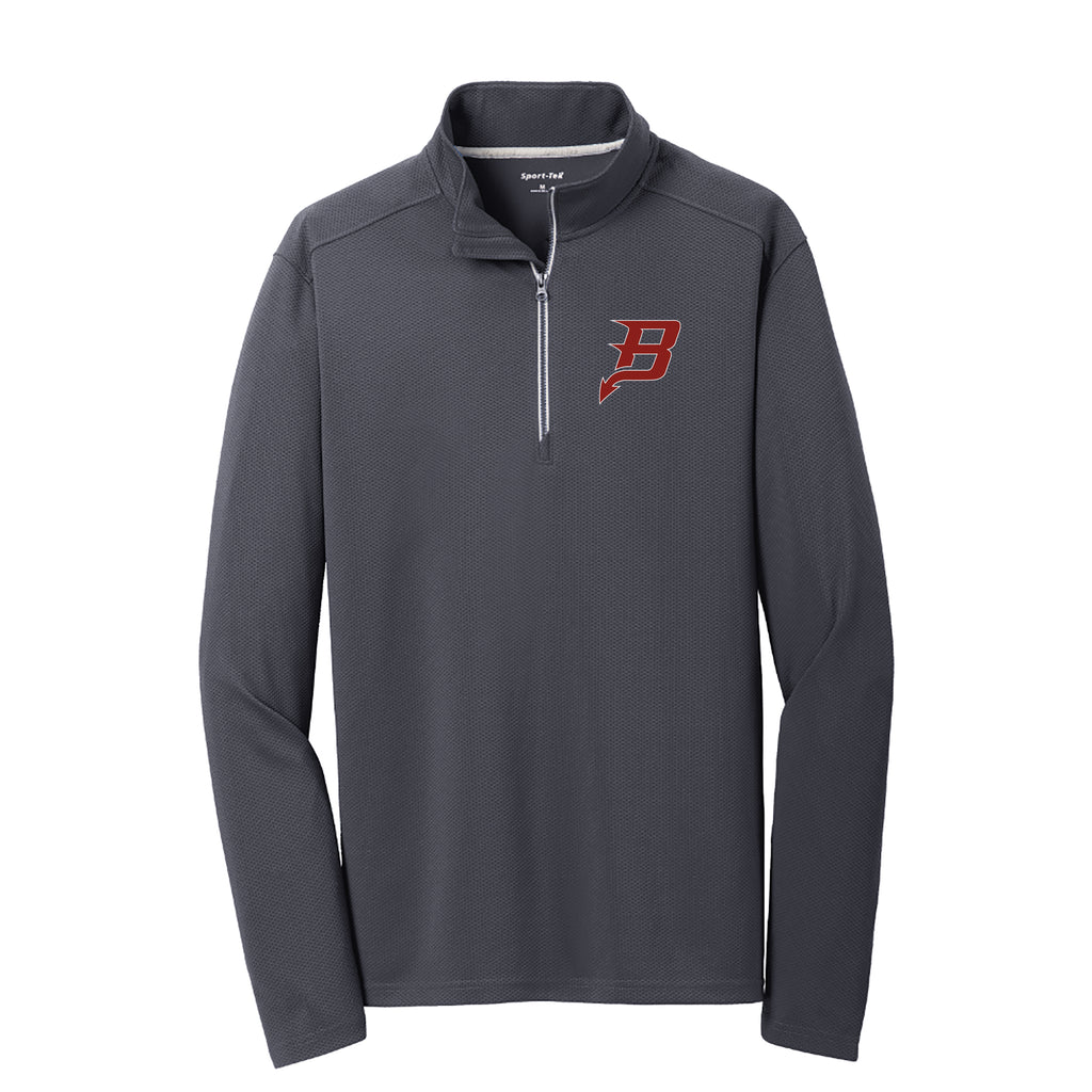 Bradford Volleyball Adult Textured Sport-Wick 1/4 Zip