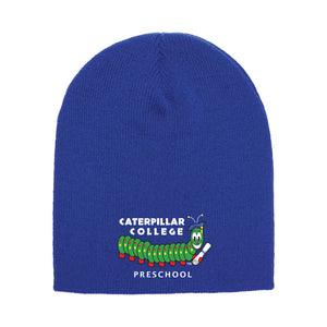 Caterpillar College Knit Beanie (4 colors)