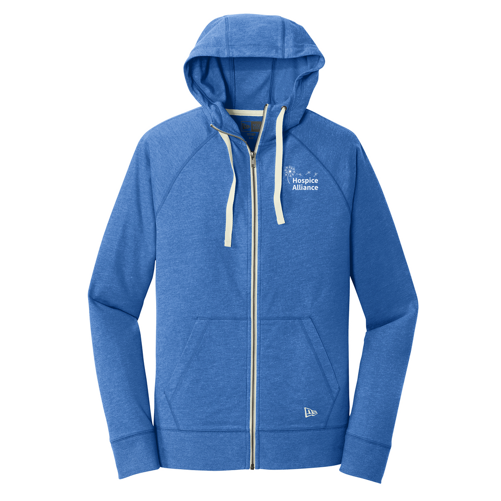 Hospice Adult Sueded Cotton Blend Zipper Hoodie (2 colors)