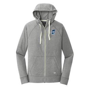 KCS101 Adult Sueded Cotton Blend Zipper Hoodie (2 colors)