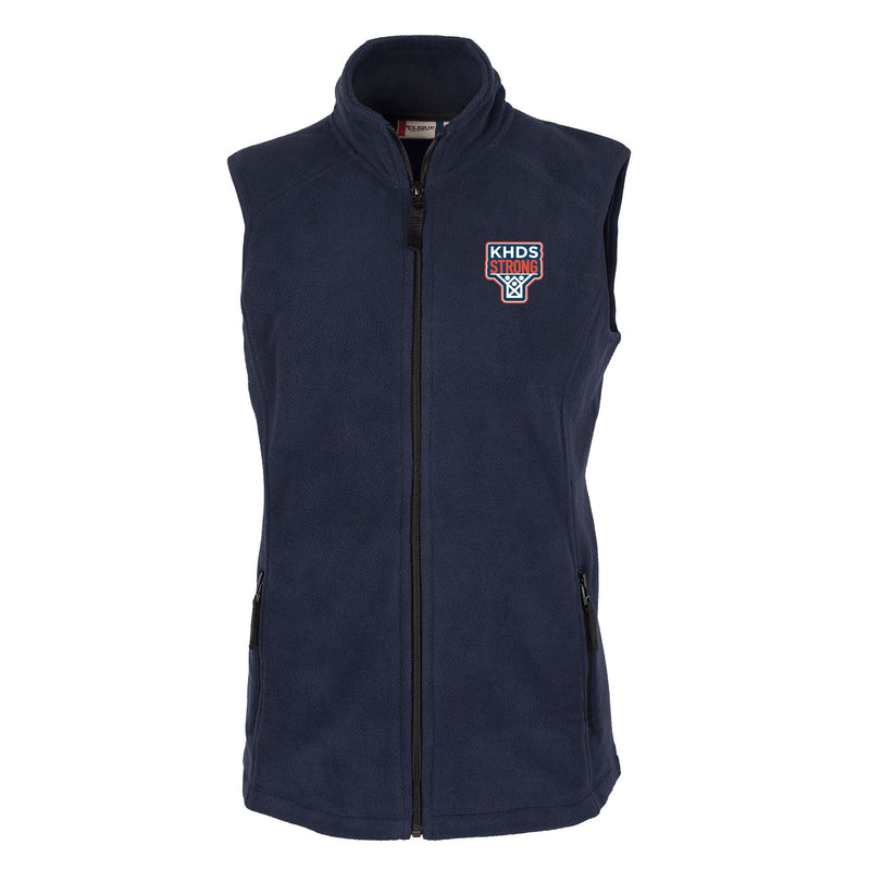 KHDS Strong Ladies Microfleece Vest (2 colors)